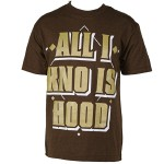 Big Scoob - Coffee T-Shirt All I Know Is Hood
