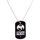 Strange Music - Black Snake & Bat Dog Tag