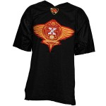 Strange Music Black Crest Football Jersey