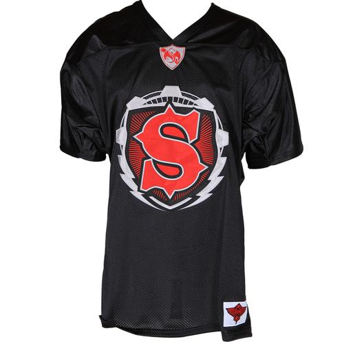 Strange Music - Black Football Jersey 2012