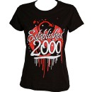 Strange Music - Ladies Black Established T-Shirt