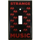 Strange Music - Black Light Switch Cover