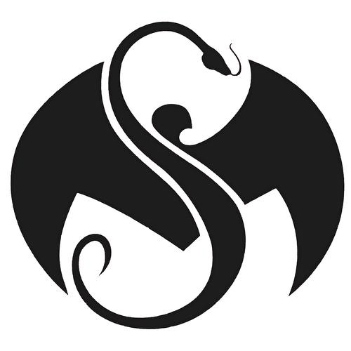Strange Music - Black Logo Decal