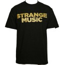 Strange Music - Black All Gold T-Shirt