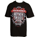 Strange Music - Black Independent Powerhouse Tour T-Shirt - 3-XL