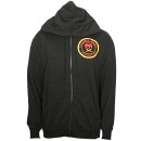 Strange Music - Black Spade Zip Hoodie - Medium