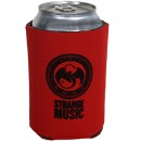 Strange Music - Red Can Coozie
