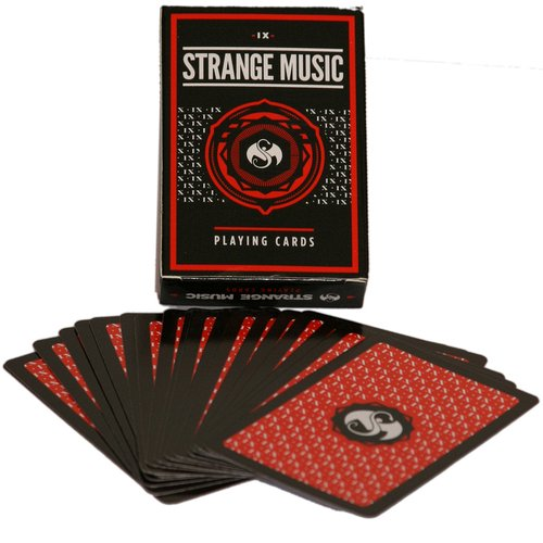Strange Music - Playing Cards