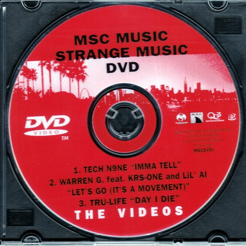 Strange Music - The Videos DVD