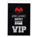 Strange Music - Summer of Strange VIP Laminate