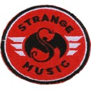 Strange Music - Round Patch