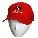 Strange Music - Red Trucker Hat - Small