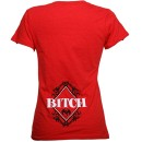 Strange Music - Red Bitch Ladies T-Shirt