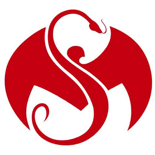 Strange Music - Red Logo Decal