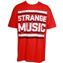 Strange Music - Red Inset T-Shirt - Large
