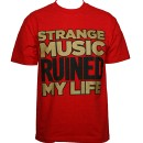 Strange Music - Red Ruined T-Shirt