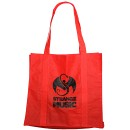 Strange Music - Red Tote Bag