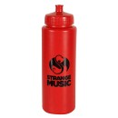 Strange Music - Red Water Bottle