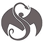 Strange Music - Silver Logo Decal - 8 Inch