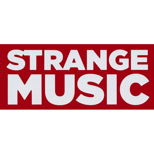 Strange Music - White Decal