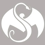 Strange Music - White Logo Decal - 4 Inch