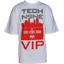Strange Music - White Lost Cities VIP T-Shirt - Extra Large
