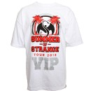 Strange Music - White Summer of Strange VIP T-Shirt