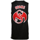 Stevie Stone - Black Basketball Jersey