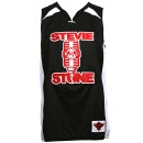 Stevie Stone - Black Basketball Jersey - 3-XL