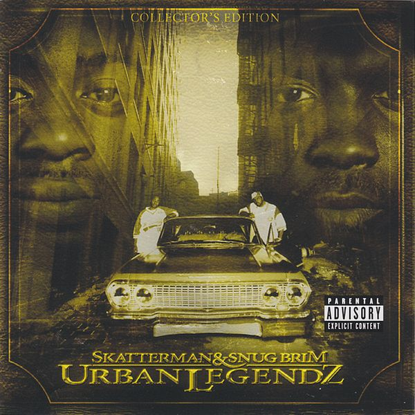 Skatterman and Snug Brim - Urban Legendz CD