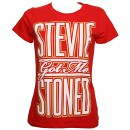 Stevie Stone - Red Stoned Ladies T-Shirt