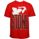 Stevie Stone - Red 2 Birds T-Shirt - Large