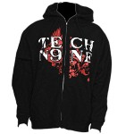Tech N9ne - Black Gargoyle Hoodie - Medium