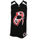 Tech N9ne - Black Facepaint Basketball Jersey - Medium