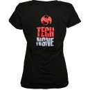 Tech N9ne - Black Psycho Bitch Ladies V-Neck T-Shirt