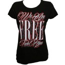 Tech N9ne - Black We are Free Ladies T-Shirt