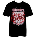 Tech N9ne - Black Band of Psychos Tour 2014 T-Shirt - Large