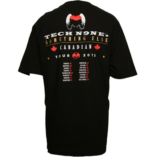 tech n9ne black canadian something else tour tshirt