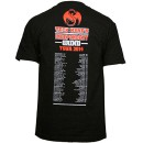 Tech N9ne - Black Independent Grind 2014 Tour T-Shirt