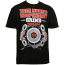 Tech N9ne - Black Independent Grind 2014 Tour T-Shirt - 3-XL