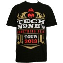 Tech N9ne - Black Something Else Tour T-Shirt - 3-XL