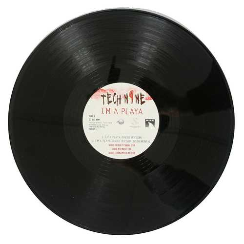 Tech N9ne - I'm a Playa Black 12 Inch Vinyl Single