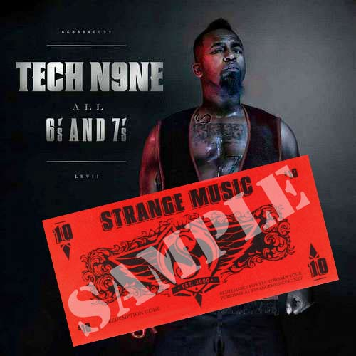 Tech N9ne - SMI92 - All 6s and 7s CD - Clean w/ $10 Strange Bucks