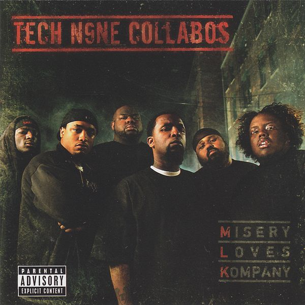 Tech N9ne Collabos - Misery Loves Kompany CD