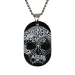 Tech N9ne - Ultimate Skull Dog Tag