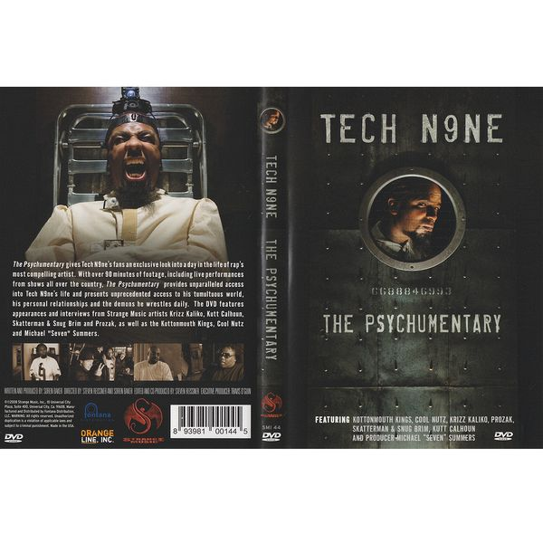 Tech N9ne - The Psychumentary DVD