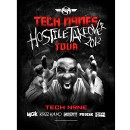 "Tech N9ne - Hostile Takeover Tour Poster 18"" x 24"""