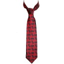 Tech N9ne - Red Strange Music Neck Tie
