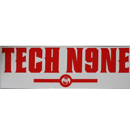 "Tech N9ne - Red Sticker 20"" x 6.5"""