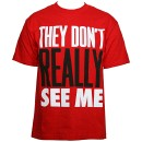 Tech N9ne - Red See Me T-Shirt - Extra Large